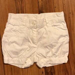 Janie and Jack white shorts